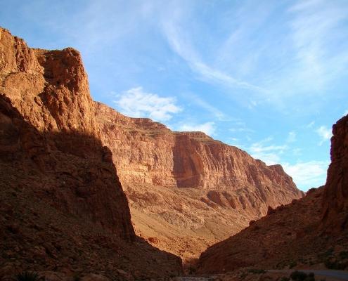 Les gorges du Todra au Maroc