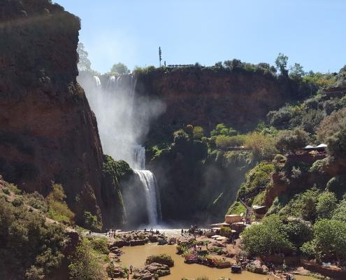 Les célèbres Waterfall du Maroc