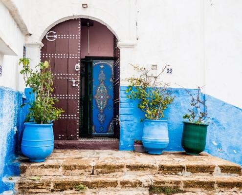 La ville de Rabat au Maroc