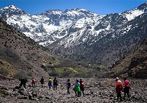 Les randonnées dans les montagnes du Maroc